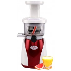 Auger juicer, ZY88RSJ, white/claret